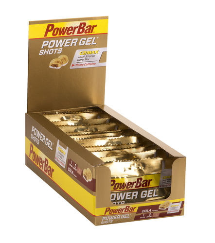 PowerBar PowerGel Shots - Cola 16er Box