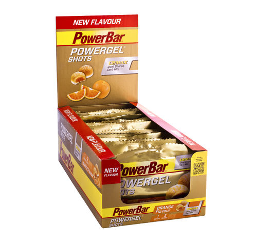 PowerBar PowerGel Shots - Orange 16er Box